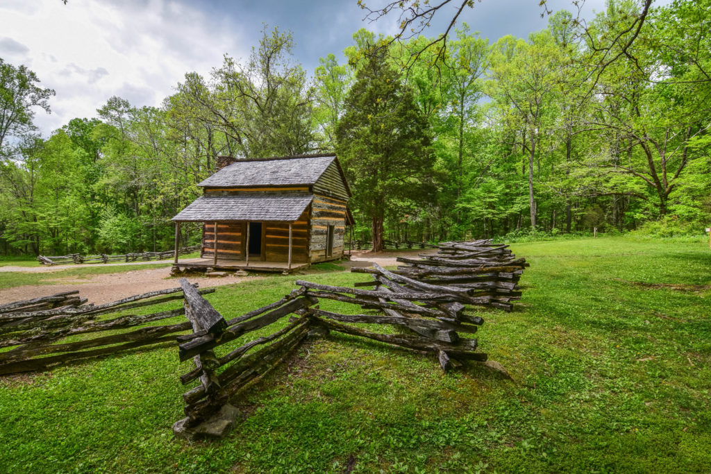 Great Smoky Mountain National Park Cabin