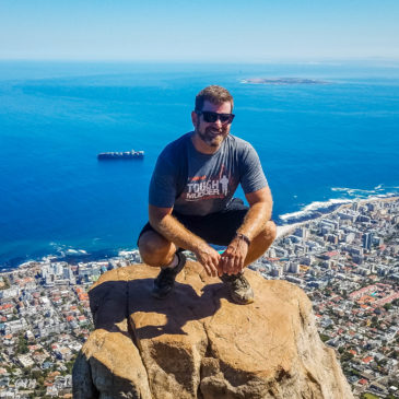 Hiking Lion's Head in Cape Town