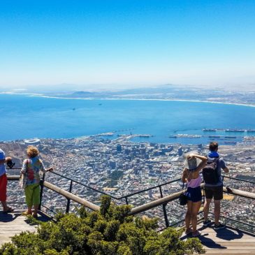 A Trip up Table Mountain via the Aerial Cableway